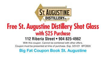 St Augustine Colonial Experience Coupon