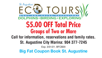 St Augustine Distillery Coupon