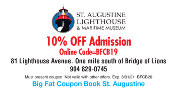 St Augustine Eco Tours Coupon