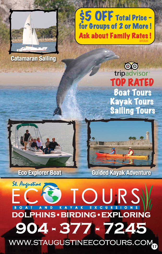 St. Augustine Eco Tours Coupon