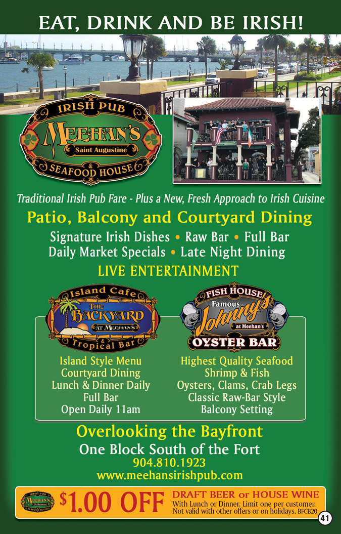 Meehans Irish Pub, Johnny's Oyster Bar Coupons