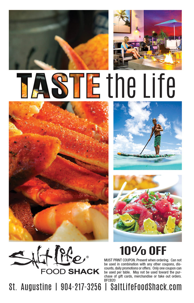 Salt Life Seafood Shack Coupon