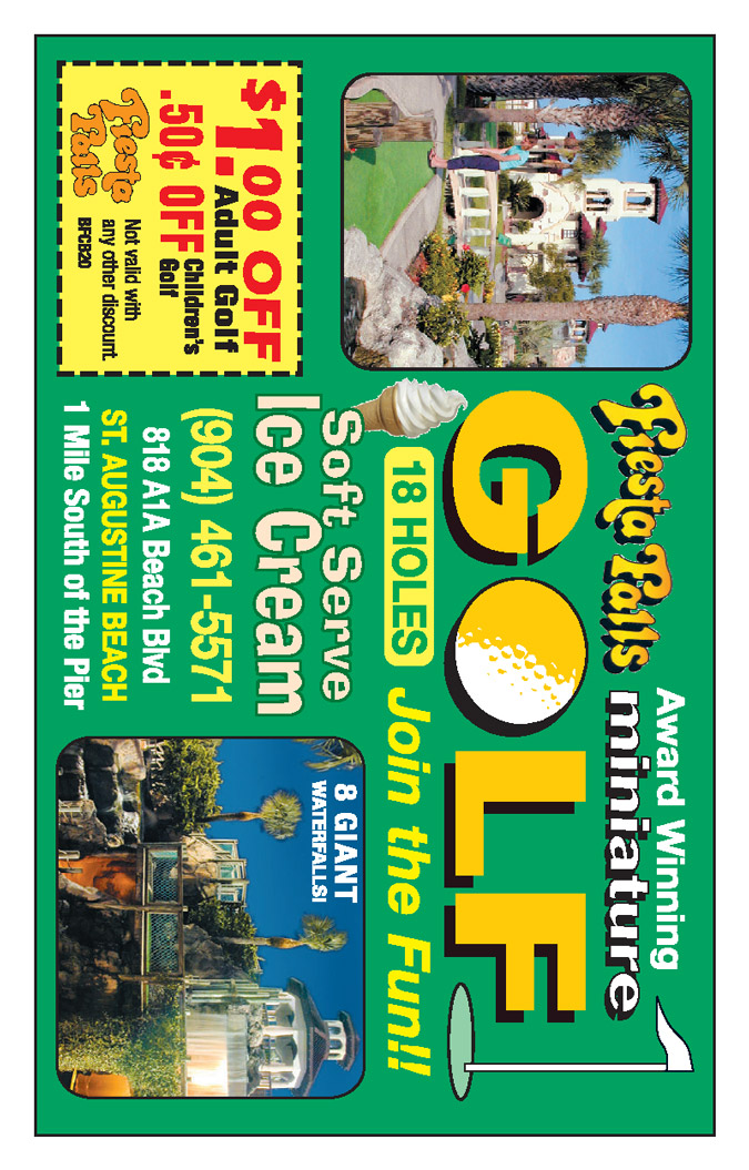 Fiesta Falls Miniature Golf Coupon